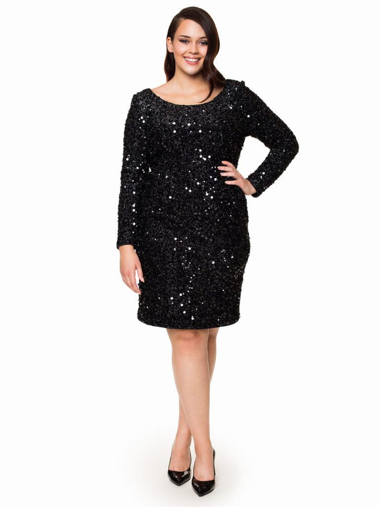 Sukienka MAXI zcekinami ARLINGTON Potis&Verso wstylu shiny