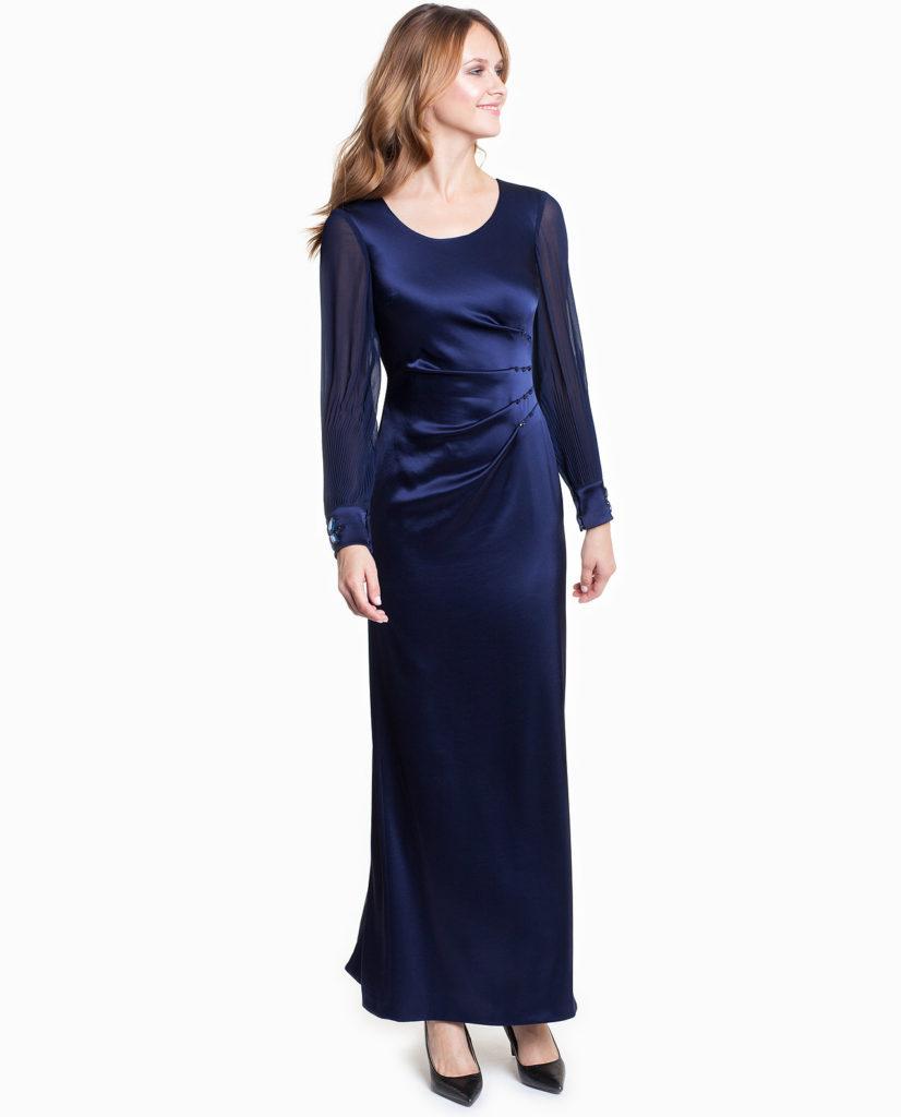 Granatowa sukienka HIUSTON Potis&Verso