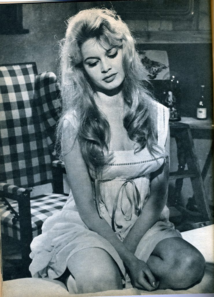 Brigitte Bardot wsukience
