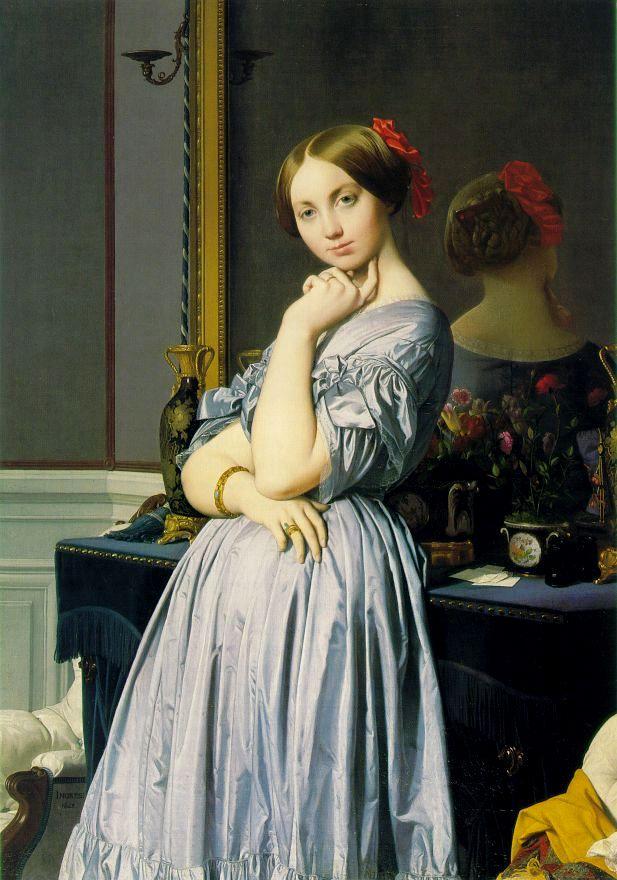 Sukienki zbufiastymi rękawami zpoczątku XIX wieku