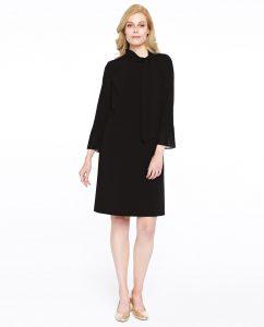 czarna sukienka Pivis&Verso