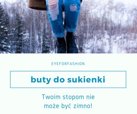 Jakie buty nosić zimą dosukienki?
