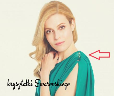 Ubrania zkryształami Swarovskiego – hit czykit?