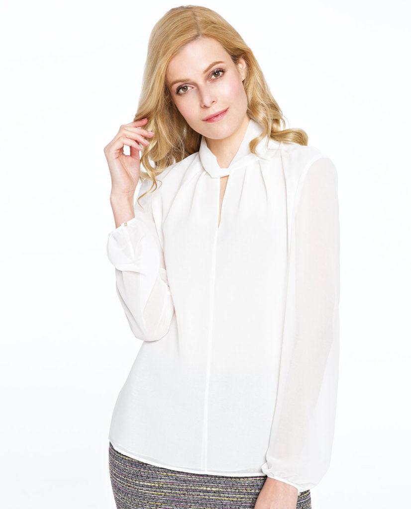 Biała bluzka Mokka Potis&Verso