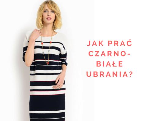 Jak prać sukienkę biało-czarną, bynie straciła koloru? Podpowiadamy!