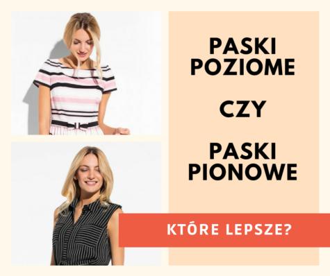 Sukienki wpasy – pionowe czypoziome?