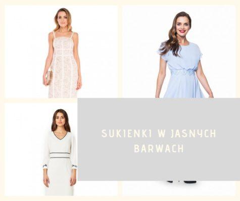 Sukienki wjasnych barwach – zczym je łączyć?